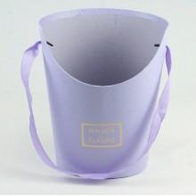 Конус миди для цветов (сиреневый), размер 15,5см*12см*19см