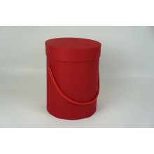 Шляпная коробка 14*18,5см (цвет красный)