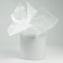 Бумага тишью 50см*66см, 50шт. в уп. (цвет белый)