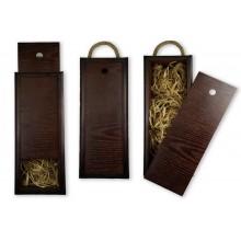 Бокс-пенал деревянный, размер 15см*40см*h10,5 (цвет коричневый)